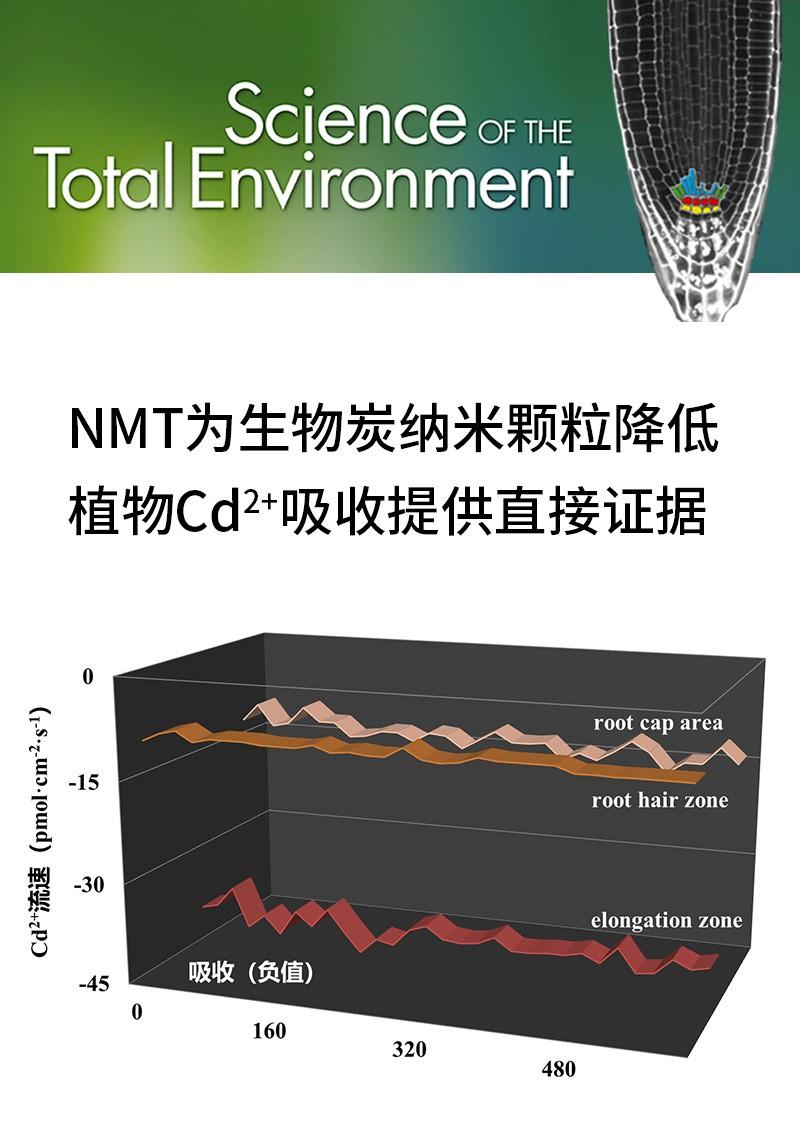 NMT为生物炭纳米颗粒降低植物Cd2+吸收提供直接证据